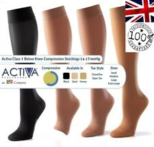 Activa Class 1 Compression Socks Bellow Knee Compression Hosiery | Select Size