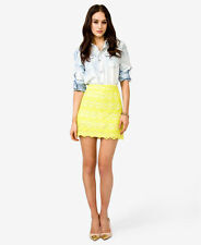 FOREVER 21 Lace Mini Skirts For Women