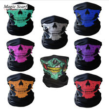 Skeleton Ghost Skull Face Mask Biker Balaclava Call Duty COD Costume Game Blue