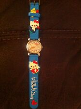 Hello Kitty Childs Wristwatch Brand New Torquoise . Xmas Stocking Filler