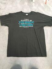 Men's grey Unicorn t shirt size XL