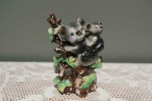 Vintage Figurine - Koala with Joey - Hand Painted - Japan - Collectable - Vgc