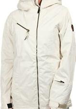 686 Parklan Drift Snowboard Jacket (M) Ivory Jacquard