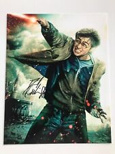 Daniel Radc Autographed Photo Harry Potter Signed 8x10 Will Pass BAS