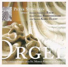 Peter Stenglein - Die Grosse Orgel Der St Moriz-Kirche in Coburg - Organ CD