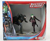 Schleich Justice League Batman vs The Joker 4in Action Figures 1023T