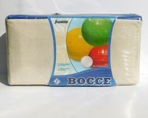FRANKLIN BOCCE BALL SET with Carrying Case Old Stock, New Sealed Package