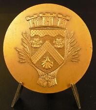 Médaille Ville de Morsang sur Orge Blasons armes emblème 40 mm 1972 medal