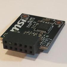 MSI TPM2SPI TPM2.0 (12Pin, 1 Closed) Module (SPI)