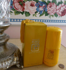 VTG NIB NEW NOS 1970s Faberge KIKU Perfumed Bath Oil Spray 3.5 Oz RARE!