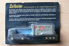 Modellino autocarro per birra Rimorchio trasporto MERCEDES ACTROS LEIKEIM HS 18