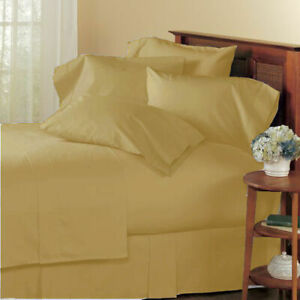 1000 TC EGYPTIAN COTTON BEDDING COLLECTION ALL SET AVAILABLE IN TAUPE COLOR