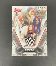 2020 Topps WWE Women's Division Factory Sealed HOBBY Box 1 RELIC 1 AUTO