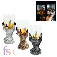 New Game of Thrones Dragon Claw Glass Holder Wine Goblet Replica Gothic Beer Cup