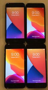 FOUR TESTED CDMA + GSM UNLOCKED VERIZON APPLE iPhone 7, 32GB A1660 PHONES L185P