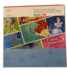 Cricut Disney Princess Dreams Deluxe Paper- New And Sealed