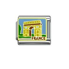Italian Charm E89 PARIS Francia Arco de Triomph encaja nominación