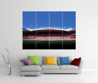 Manchester United FC Old Trafford Stadium Mural Géant Art Print Affiche