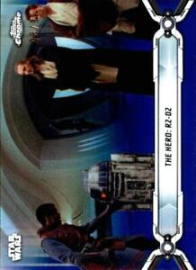 2019 Topps Chrome Star Wars Legacy Refractor & Insert Singles (Pick Your Cards)