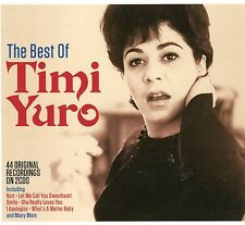 The Best of Timi Yuro 44 Original Recordings Inc Hurt Call Me Sweetheart 2 CDs