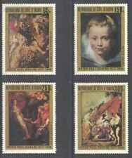 Timbres Arts Tableaux Rubens Haute Volta 444/7 * lot 25567