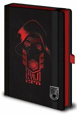 Official Star Wars Premium A5 Kylo Ren Notepad Notebook Episode VII 7 Film Gift
