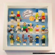 Display Case Frame for Lego Simpsons Series 1 minifigures 71005 no figures