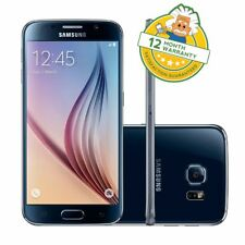 Samsung Galaxy S6 (Unlocked) G920F Black - 32 GB - Android Smartphone GRADE A