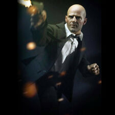 """1/6 Scale Jason Statham Suit Full Set With Body 12"""" Action Figure Model Hot Toys"""