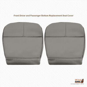 1996 1997 Ford E150 E250 E350 Van DRIVER-PASSENGER Bottom All Gray Seat Cover