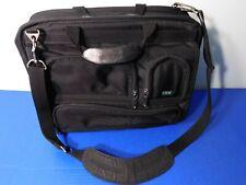 "MVision Black Laptop Bag Ballistic Nylon Briefcase Padded Tumi Style 19""x13"""