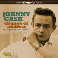 Johnny Cash - Change of Address - The Singles As and Bs 1958-1962 [CD]