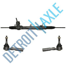 Complete Rack and Pinion Assembly + 2 Outer Tie Rod Ends for Dodge Chrysler