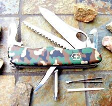 Victorinox ONE HAND TREKKER Camouflage NS Original Swiss Army Knife 54878 NEW!