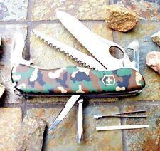 Victorinox ONE HAND TREKKER Camouflage NS Original Swiss Army Knife 54878 NEW!