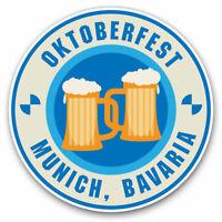 2 x Vinyl Stickers 7.5cm - Oktoberfest Munich Bavaria Cool Gift #4232