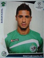 Panini 65 Baram Kayal Maccabi Haifa UEFA CL 2009/10