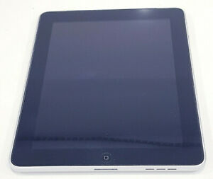"""Apple iPad 1 Wifi + Cellular A1337 16GB 3G 9.7"""" 256MB/SOLD AS IS/Stuck at logo"""