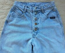 Rockies Rocky Mountain Jeans Western Stone Washed Button Up Fly Size 27/5