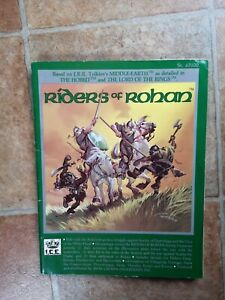 RIDERS OF ROHAN - 1985 MIDDLE EARTH ROLEPLAYING RPG  MERP JRTM ROLEMASTER