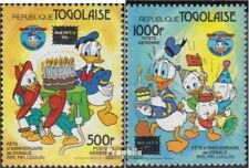 Unmounted Mint Never Hinged 1986 Donald Duck complete Issue Togo 1962-1963