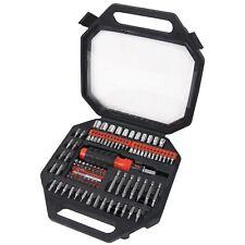 Amtech 101pc Destornillador y conjunto de bits y Controlador De Trinquete Socket Bit Set Bricolaje Pozi