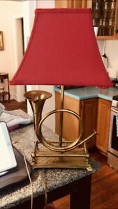 Crimson Red Square  Medium Lamp Shade 9' h Top 7x7  Bottom  12.5X12.5