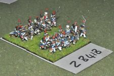 15 mm napoléoniennes/Français Garde - 24 figurines-INF (28418)