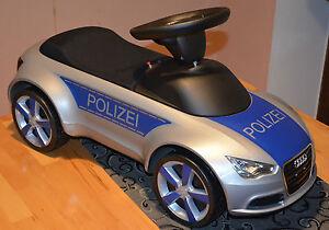 POLIZEI Aufkleber Set für Rutschauto Audi junior Quattro