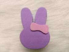 Cute Light purple Rabbit Antenna Balls Car Aerial Ball Antenna Topper Decor Ball