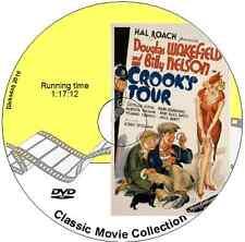 Crooks Tour - Comedy Mystery Film Basil Radford, Naunton Wayne 1941 DVD