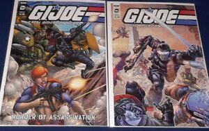 GI JOE: A Real American Hero #284 IDW 2021 | 2 BOOK LOT [ Cover A & B] NM