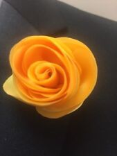 Pl230-M Yellow Rose Flower Lapel Pin
