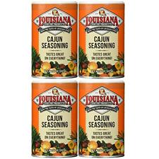 Louisiana Cajun Seasoning, 8 oz, pack of 4